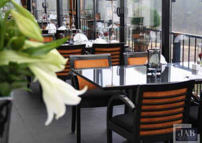 Restyling eetgelegenheid Hotel Luxemburg