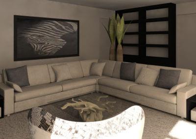 3D ontwerp Luxe Appartement